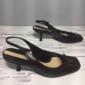 Nine West retro style low heels